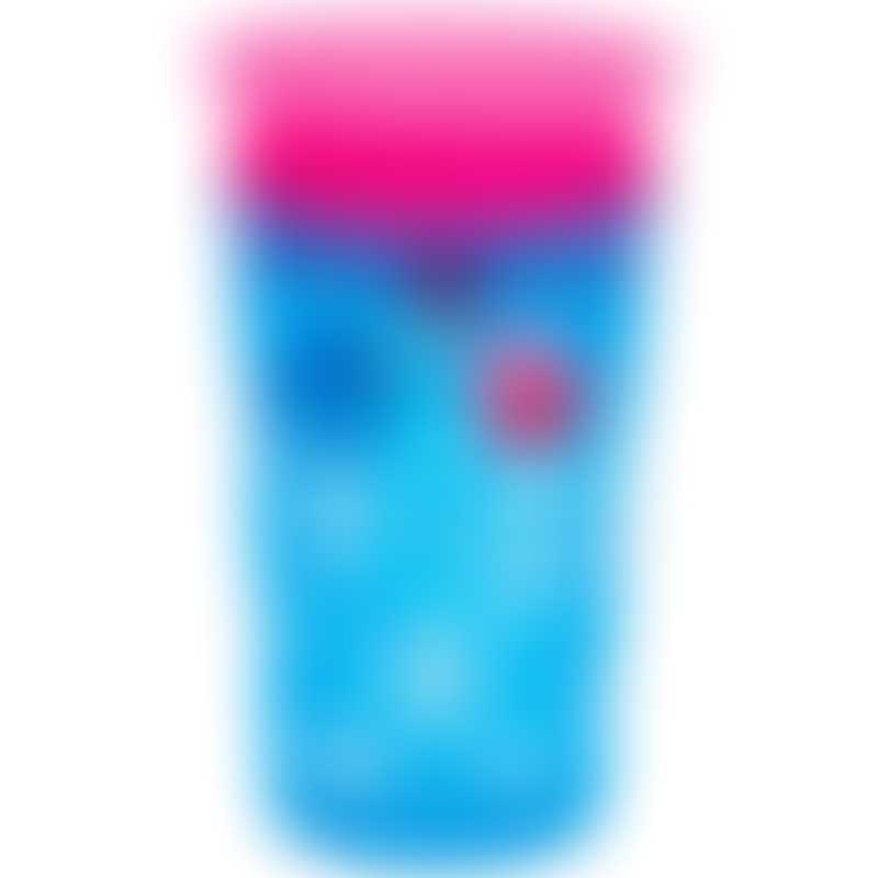 Munchkin Miracle 360° Deco Sippy Cup 9oz - Blue/Pink 12m+