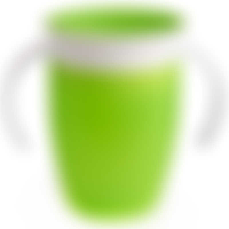 Munchkin Miracle 360° Trainer Cup 7oz - Green