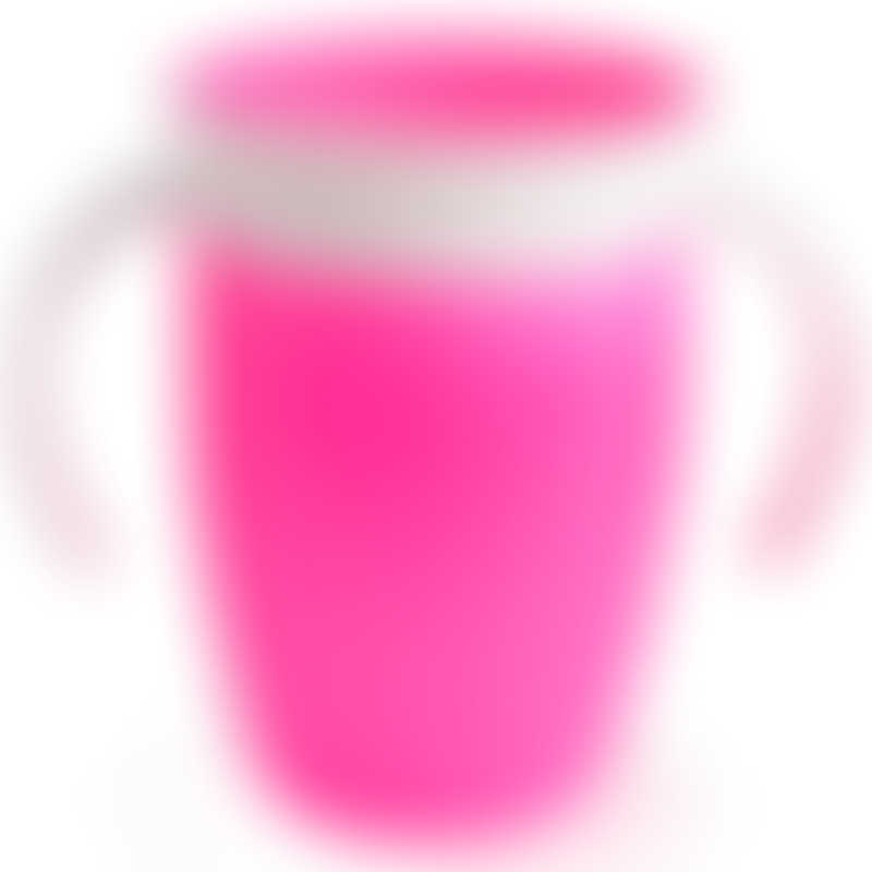 Munchkin Miracle 360° Trainer Cup 7oz - Pink