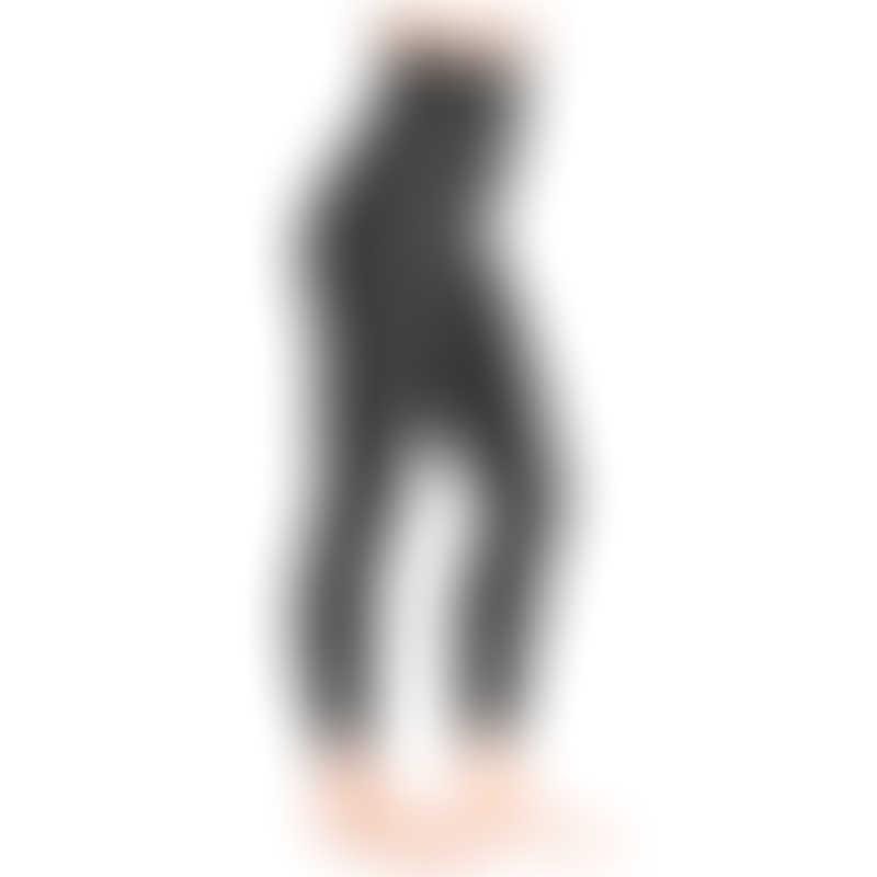 Belly Bandit Mother Tucker Moto Style Leggings - Black