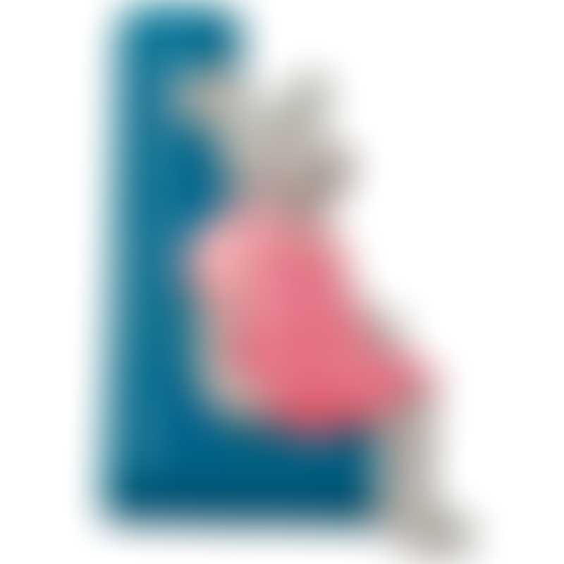 "Moulin Roty La Grande Famille ""L"" Resin Letter 7cm (632811)"
