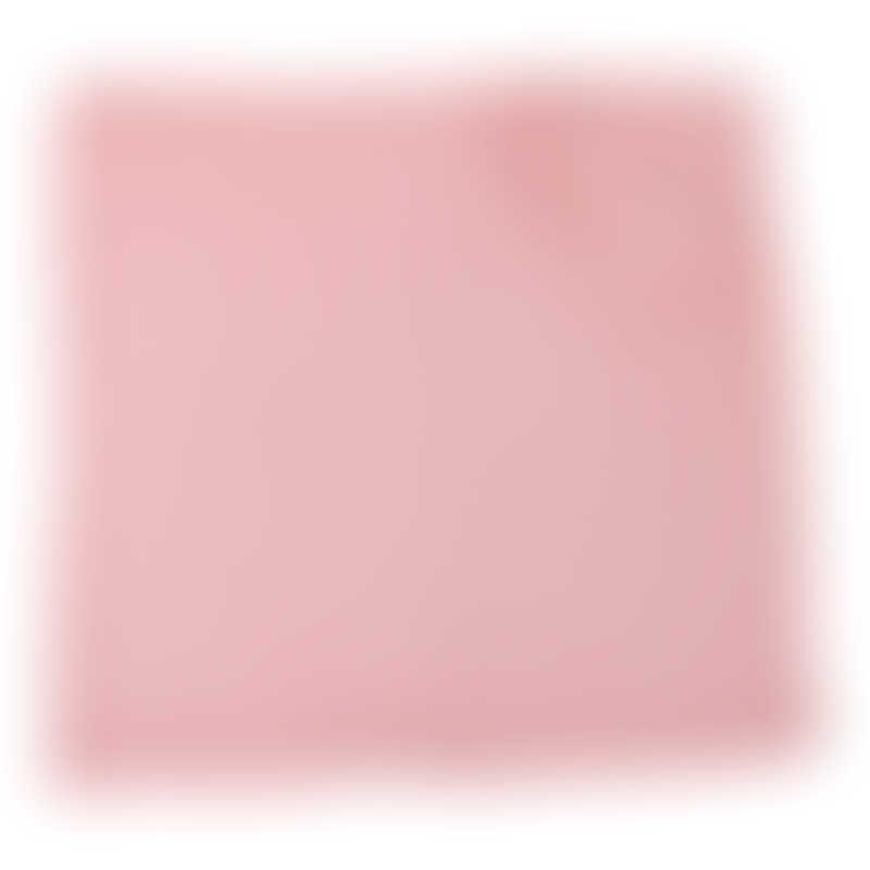 Moulin Roty Les Jolis Trop Beaux Pink Cotton Muslin 70x70cm