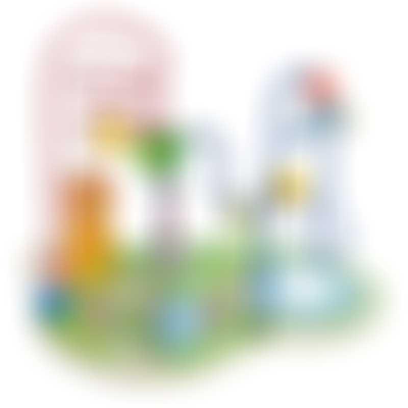 Moulin Roty Les Papoum Bead Maze Activity Toy 27.5x18x22cm
