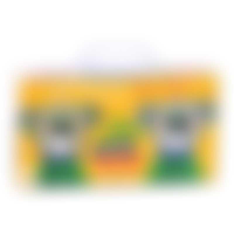 Moulin Roty 風車工紡 Les Popipop 24 Wax Crayons 23.5x17cm