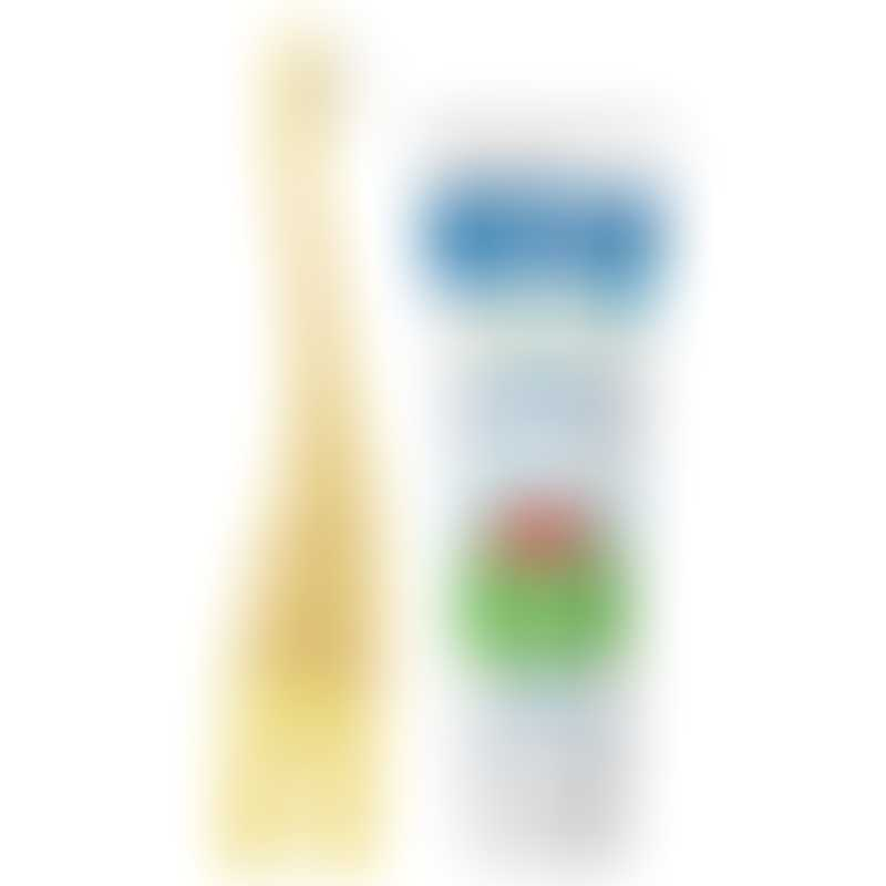 Dr Brown's Natural Baby Toothpaste & Infant-to-Toddler Toothbrush Set - Strawberry/Giraffe