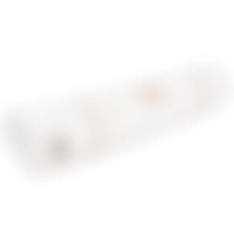 Nobodinoz Nomad Changing Pad - Gold Bubble / White
