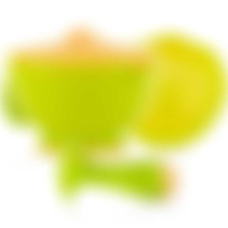 Nuby Garden Fresh Steam n Mash - Green/Orange
