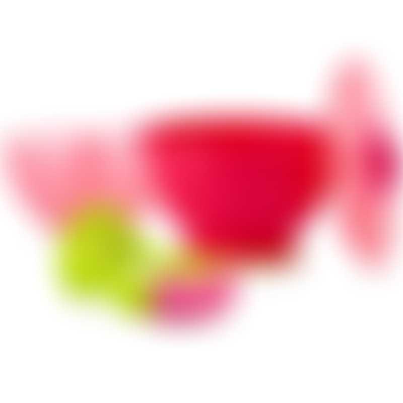 Nuby Garden Fresh Steam n Mash - Pink/Green