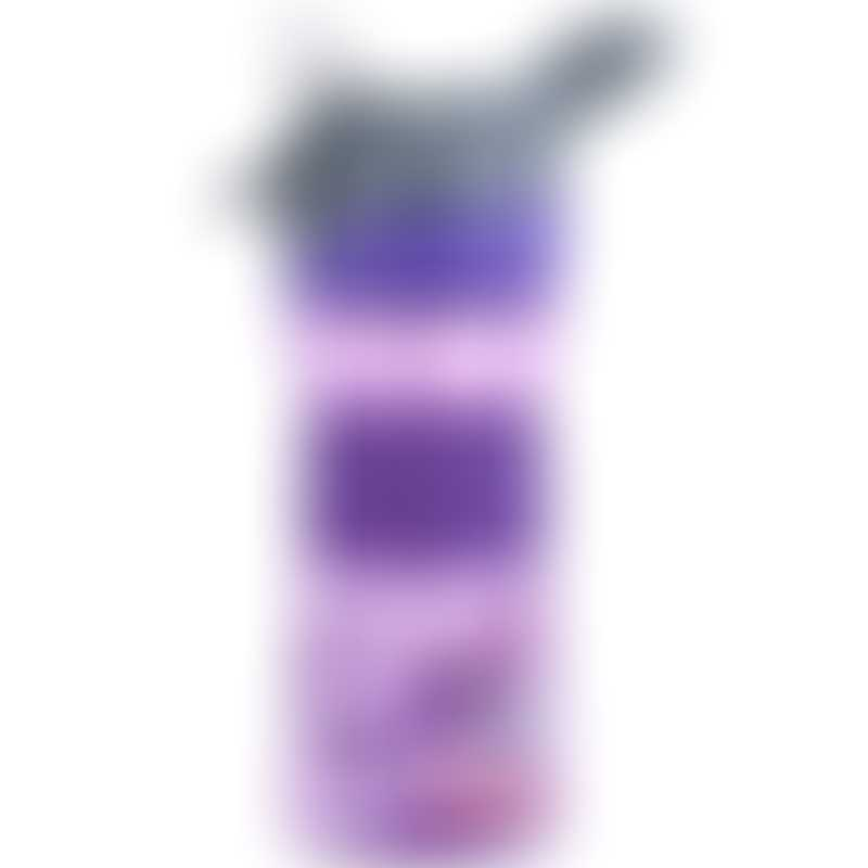 Nuby Soft Spout On the Go Sports Bottle with Push Button 360ml - Purple