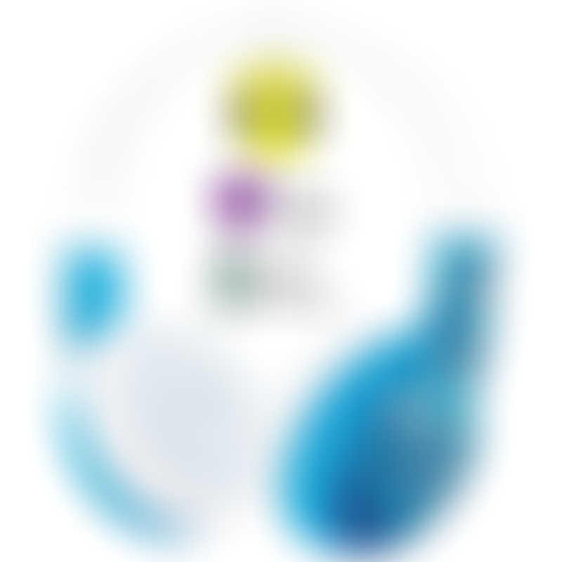 onanoff BuddyPhones WAVE - Blue Robot