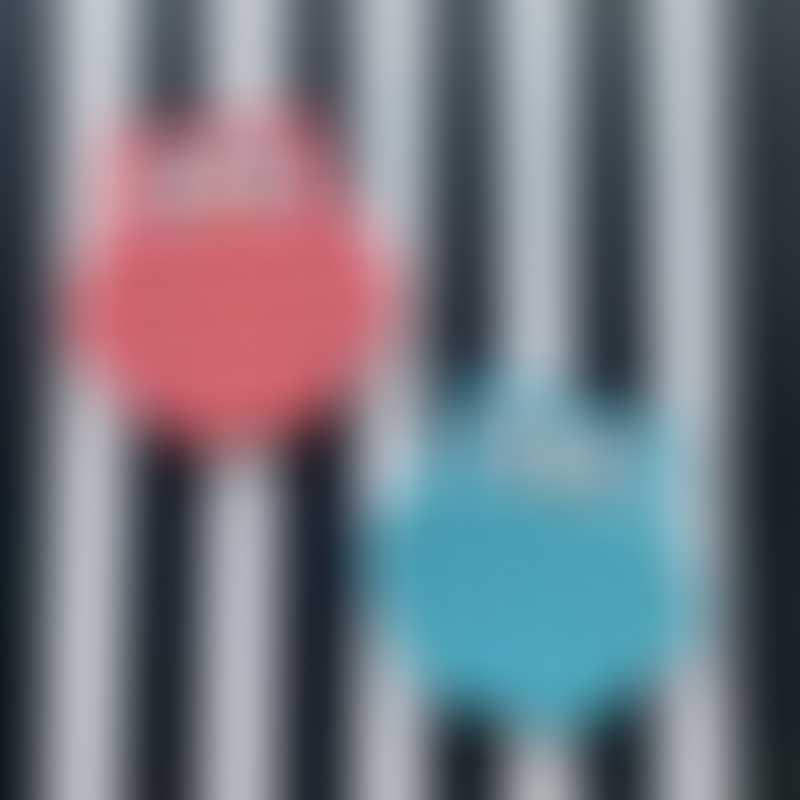 Little Caleb Owl Pop It Fidget Toy Set - Pink & Blue