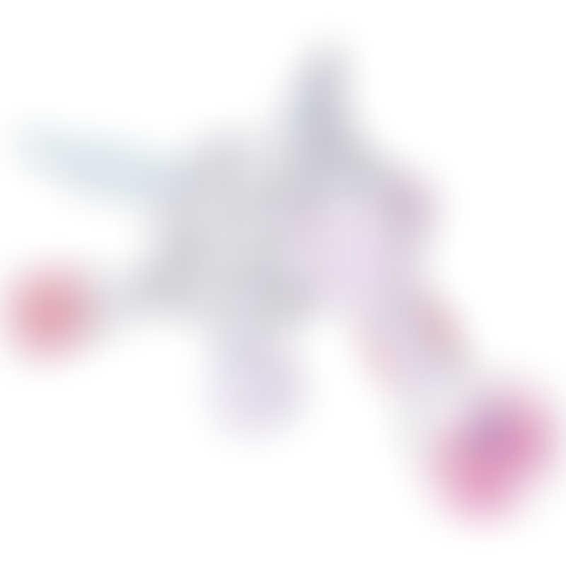 Bubble Pacifier Holder - Sparkle the Unicorn