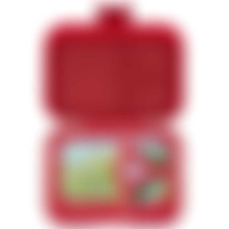 Yumbox Panino - 4 Compartment - Wow Red