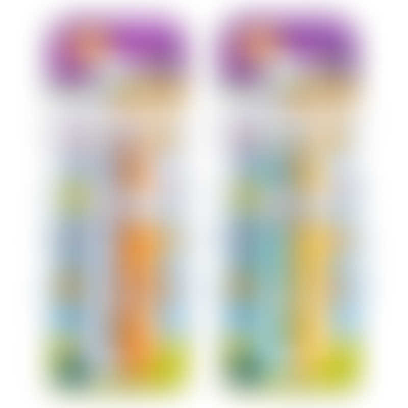 Parents League Safety Infant Toothbrush 2-Pack (color may vary)