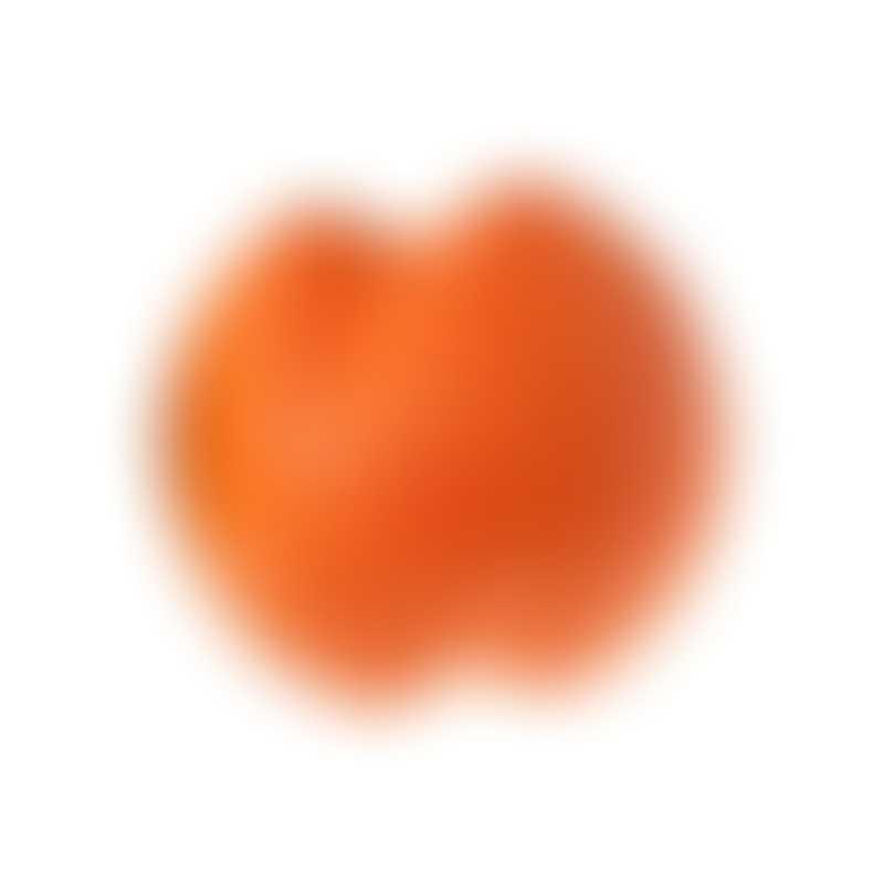 West Paw Jive Dog Ball-  Color Orange-  Large