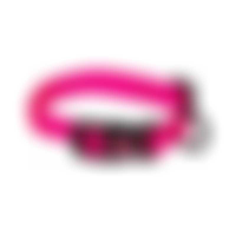 Hamilton Classic Adjustable Collar-  Hot Pink-  Medium 3/4x16-22
