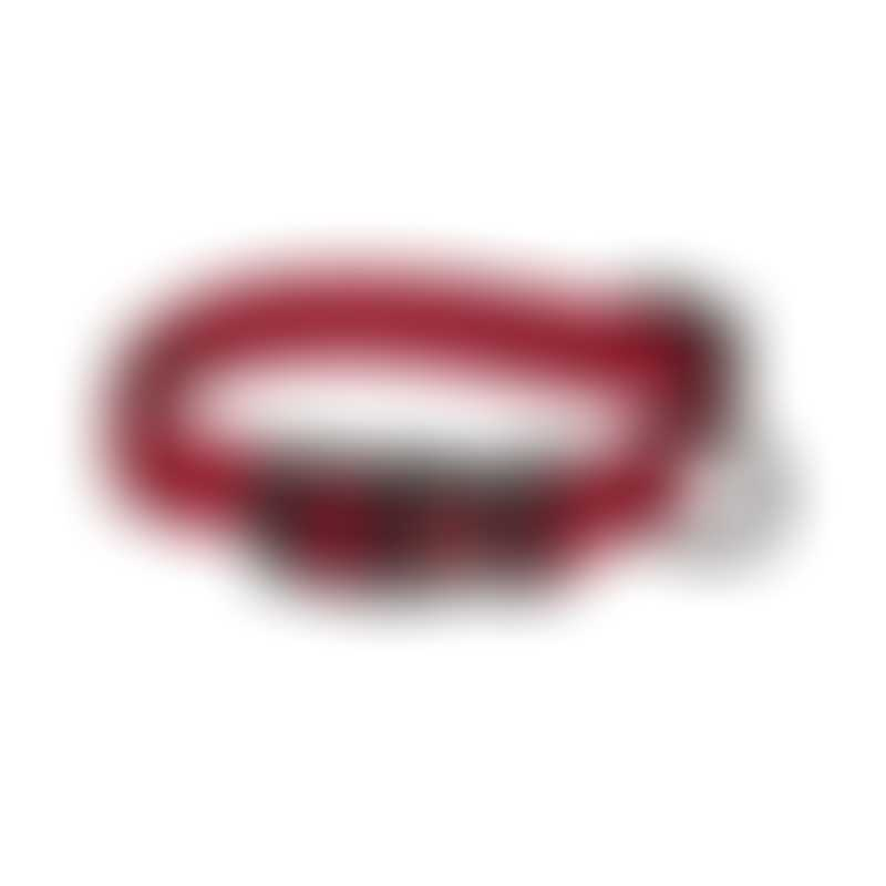 Hamilton Classic Adjustable Collar-  Red-  Small 5/8x12-18