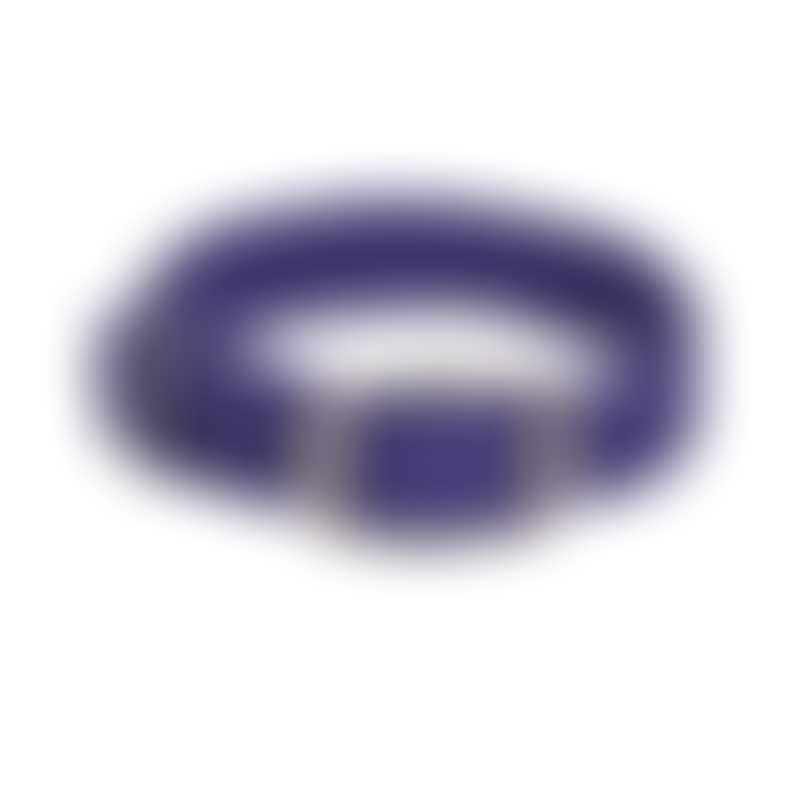 Mendota Products Double Braid Collar-  Color Purple-  24