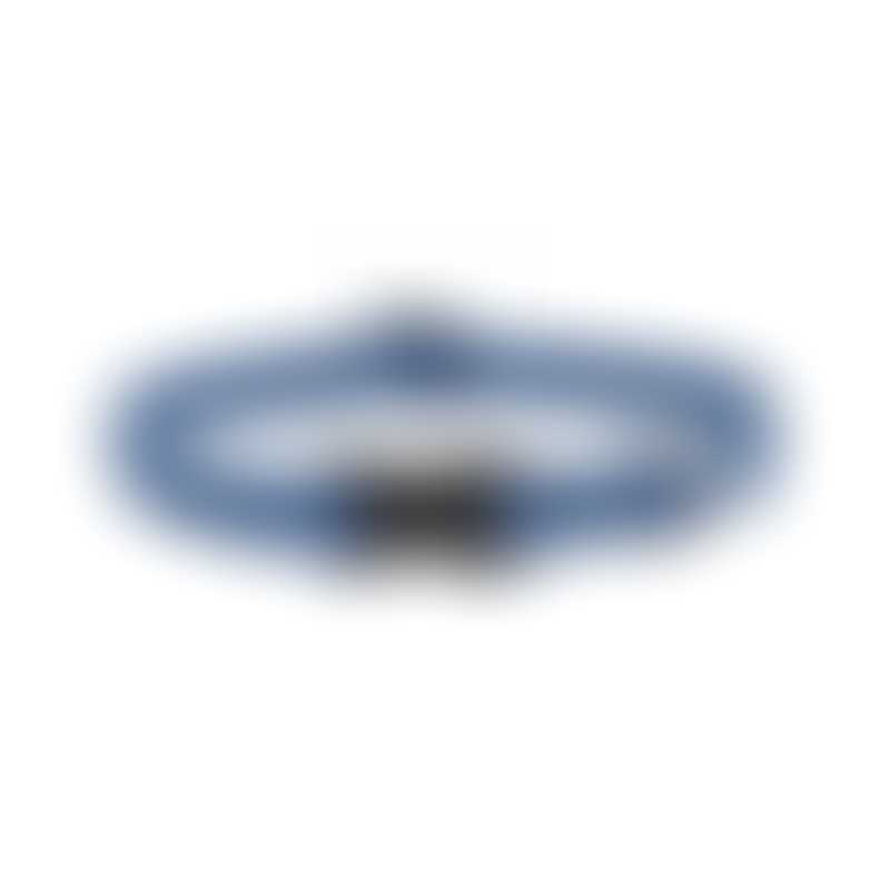 LupinePet Eco Dog Collar-  Color: Mountain Lake-  Width: 3/4-  Length: 9-14 (Adjustable)