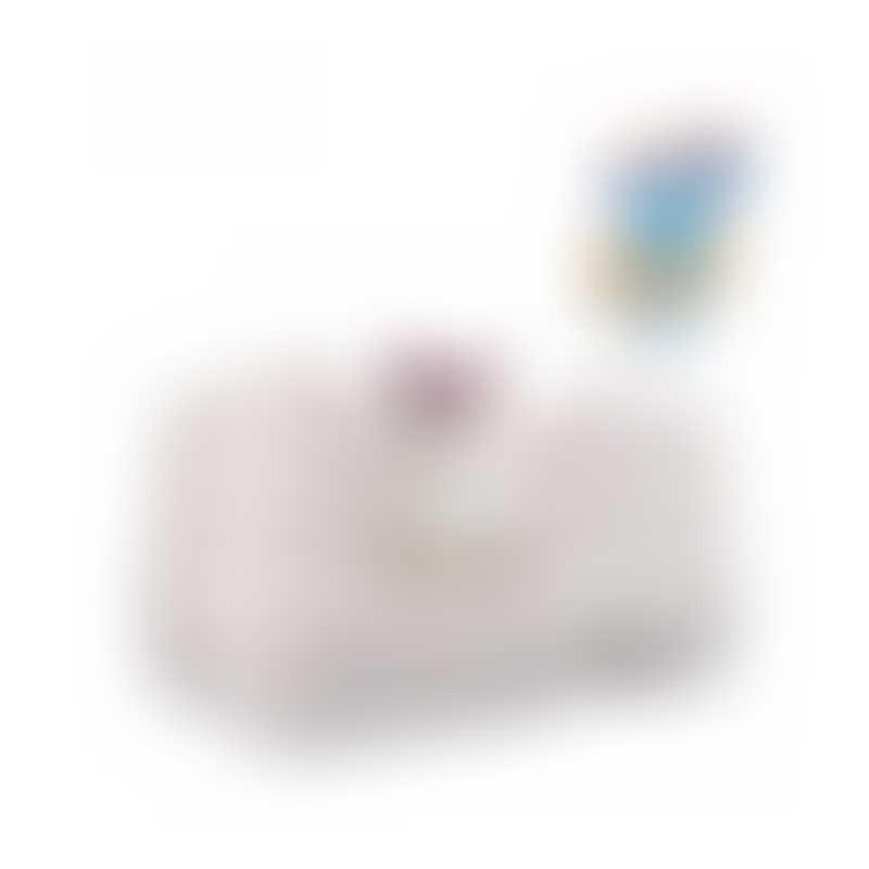 UniCharm DeoToilet High Wall Cat Litter Bin w/ Starter Kit-  Color: Ivory