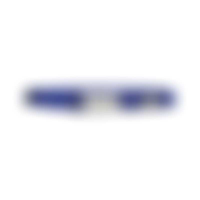 Red Dingo Classic Bucklebone Dog Collars-  Color Dark Blue-  Small