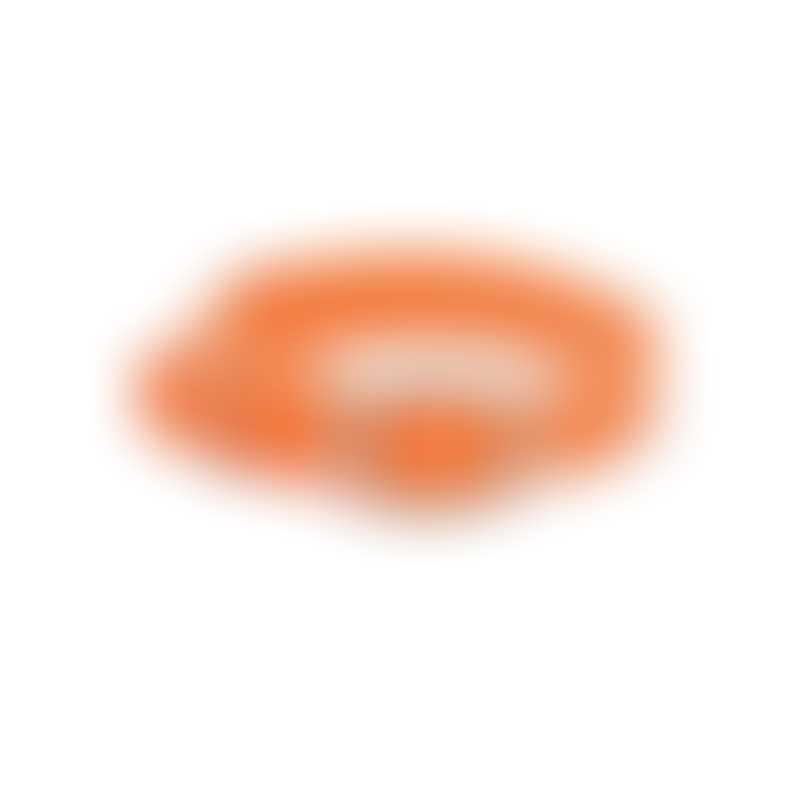 Mendota Products Double Braid Collar-  Color Orange-  18