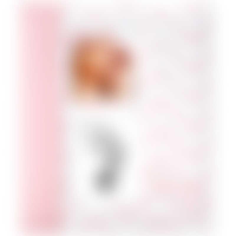 Pearhead Chevron Baby Book - Pink