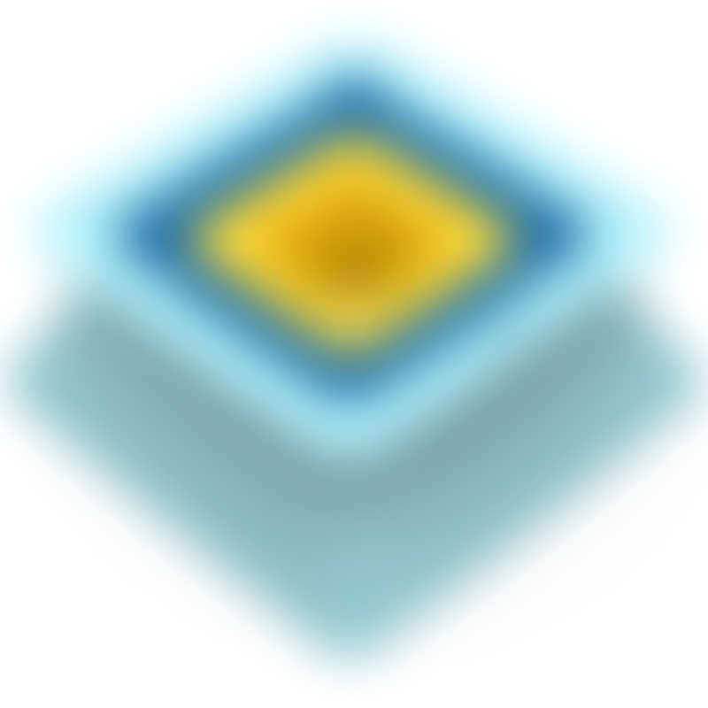 Quut Toys Pira, Vintage Blue + Deep Blue + Mellow Yellow