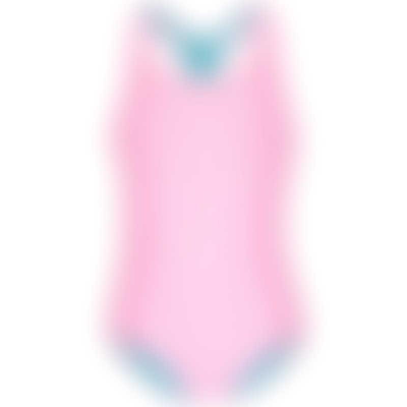 Platypus Gelato Block UPF50+ Keyhole Swimsuit - Size 4 to 14