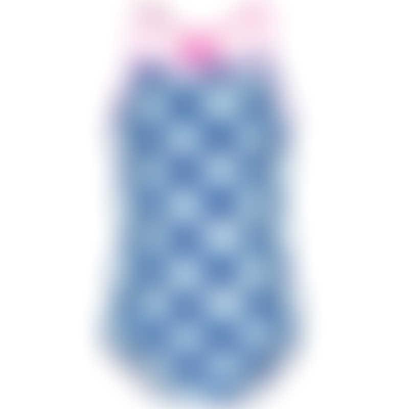 Platypus Inky Bloom UPF50+ Web Back Swimsuit