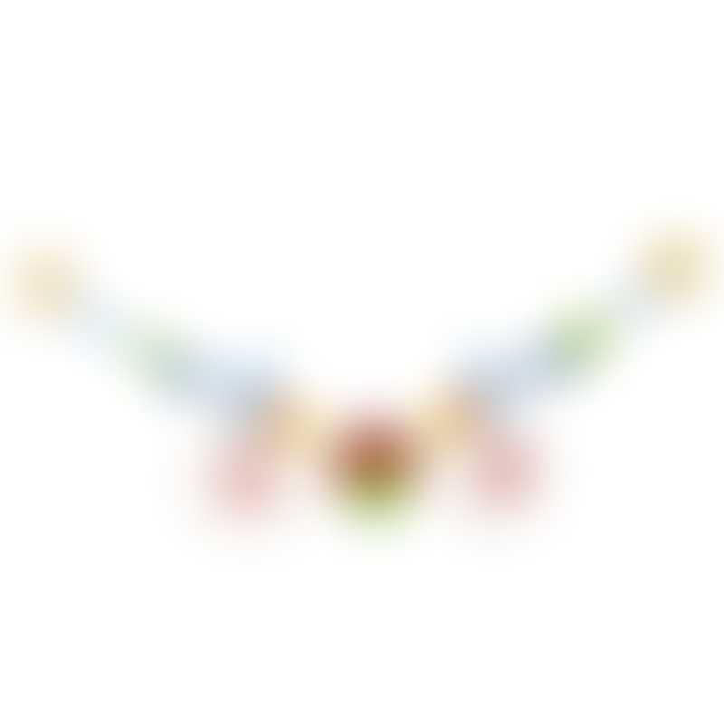 Heimess Pram Chain with Clips - Bird
