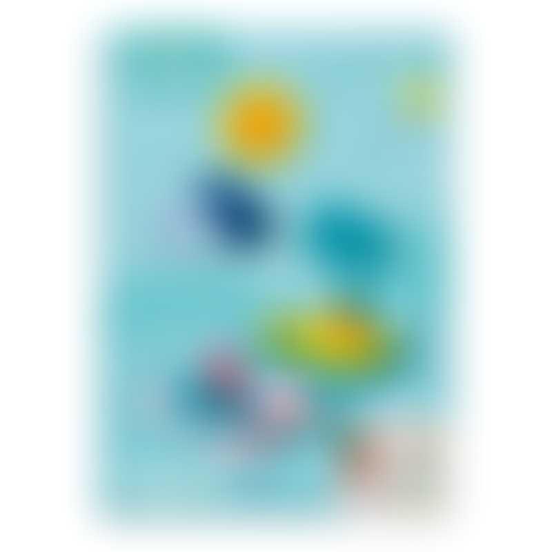 Quut Toys Quutopia Bath Puzzle - Treasure Island