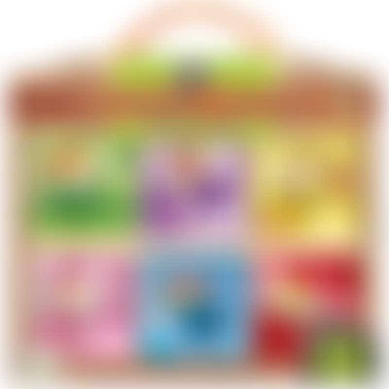 Innovative Kids Rainbow Fairies (12pcs Wooden Puzzle)