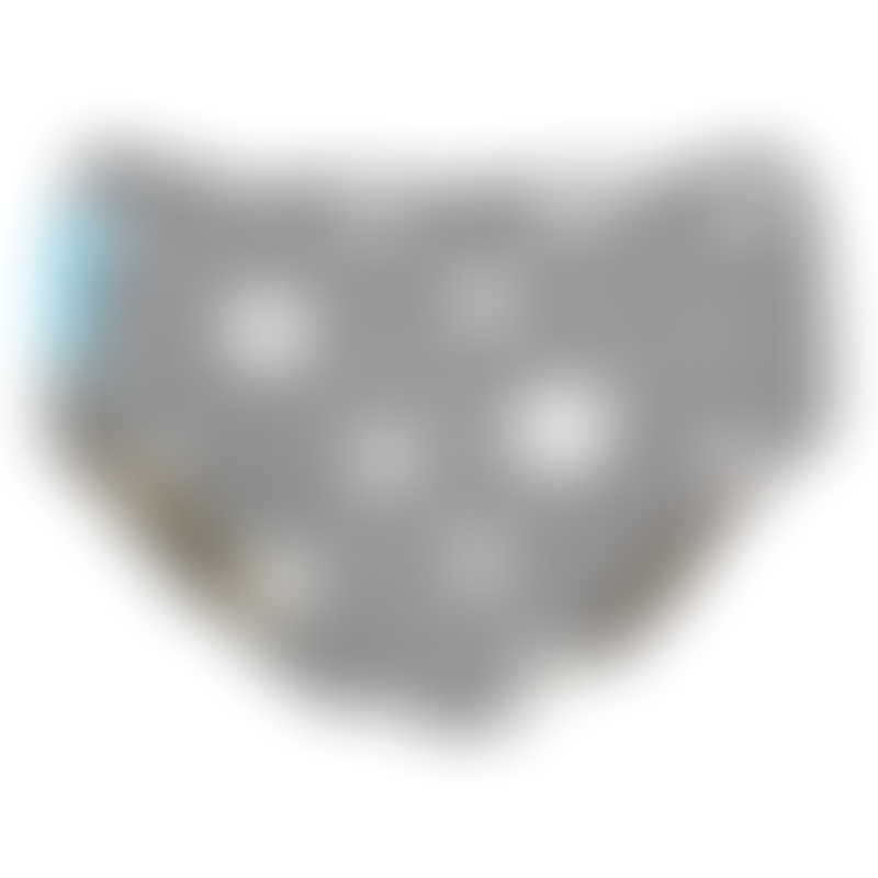 Charlie Banana Reusable Super Pro Underwear - Twinkle Little Star White