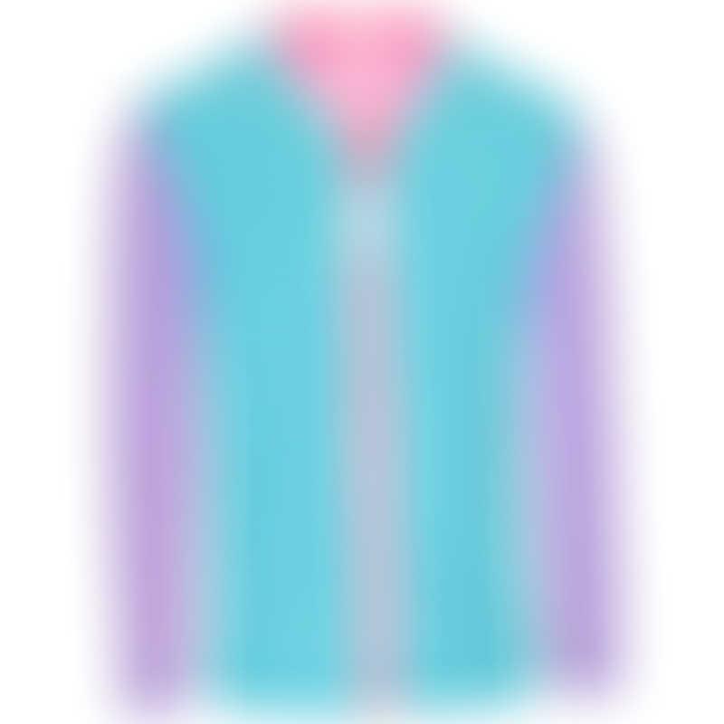 Platypus Sherbet Block UPF50+ Piped Sun Jacket LS