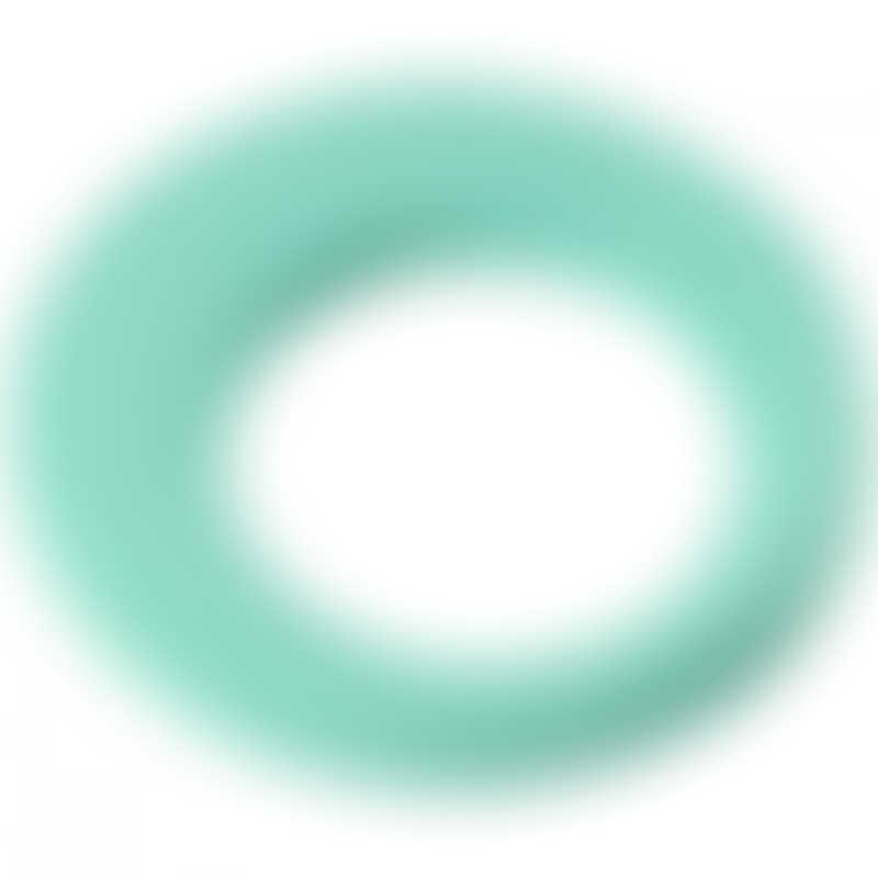 Beaba Silicone Teething Ring - Aqua
