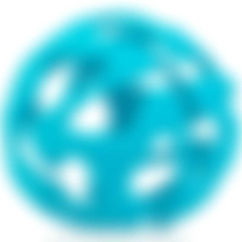 Nuby Silicone Tuggy Teething Ball 3m+ - Aqua