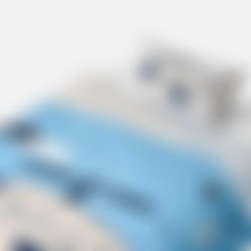 Jadaloo Single Bed Duvet Set - Blue Helicopter