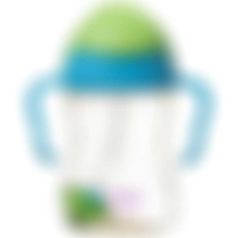 b.box Sippy Cup Deluxe PPSU - Blue/Green