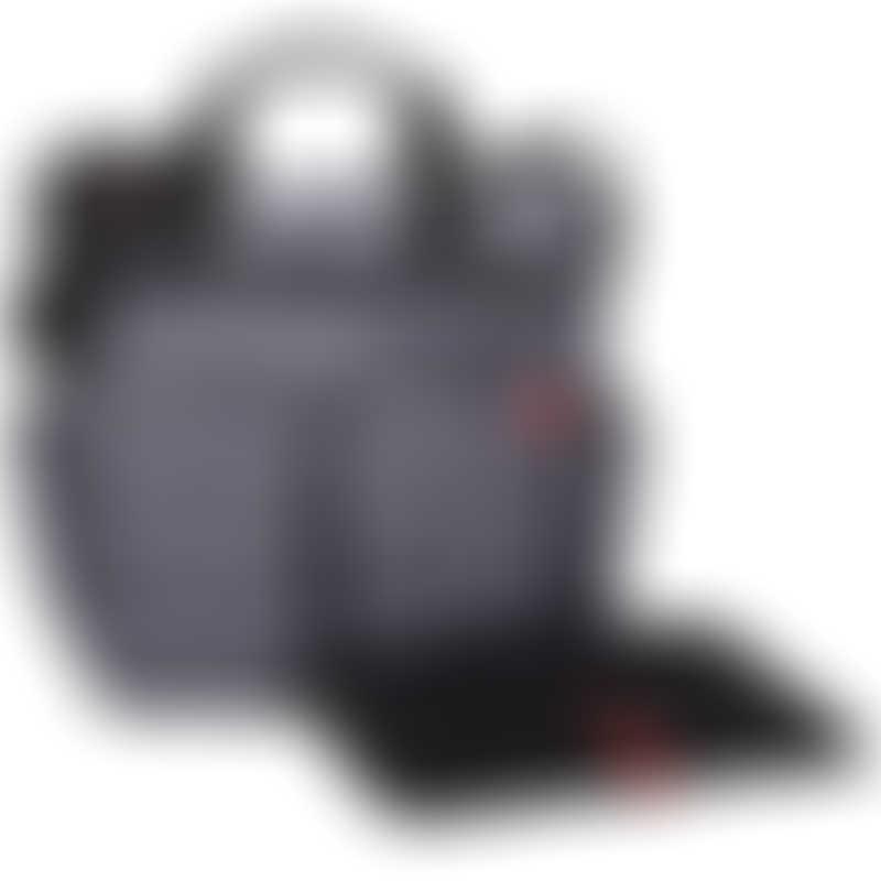 Skip Hop Duo Signature Diaper Bag - Tonal Chevron