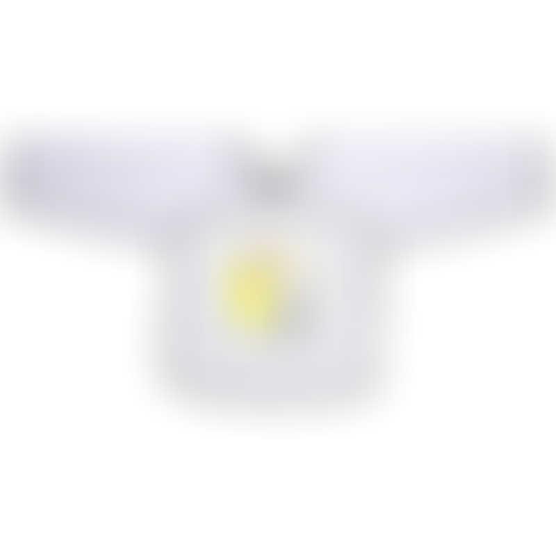 Beaba Sleeved Bib - Bunny 9-36mos