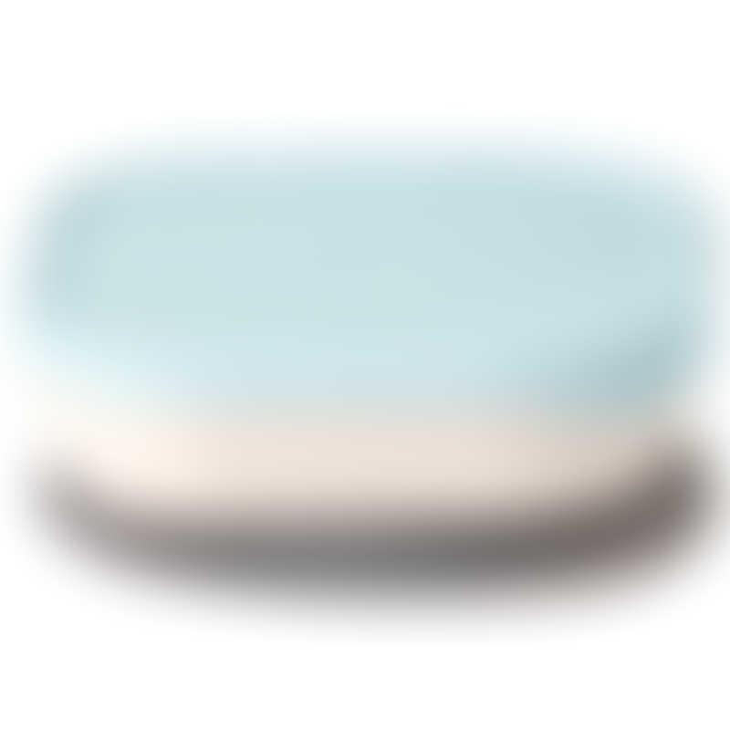 Miniware Snack Bowl Set - Vanilla / Aqua