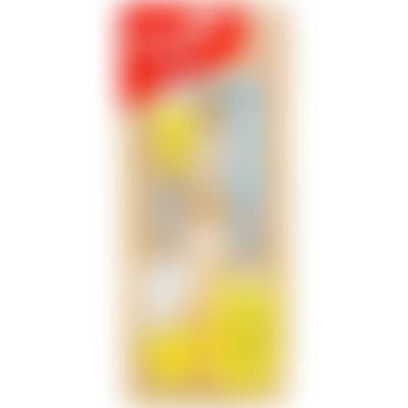 Snapkis 6-Piece Brush Set (Yellow)