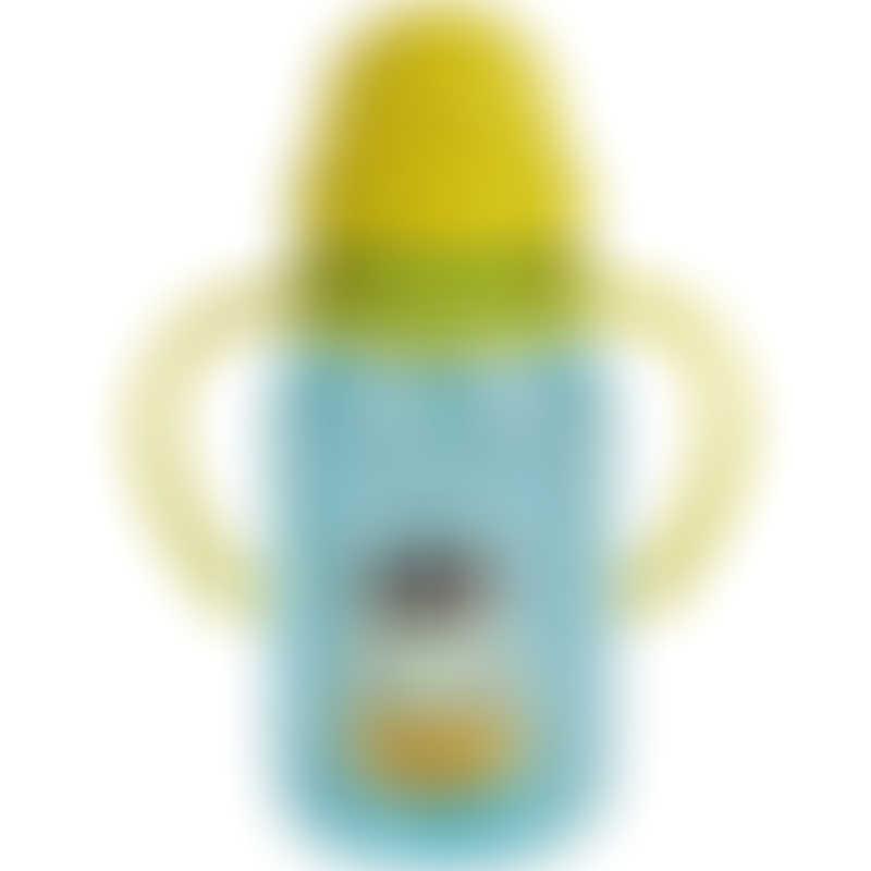 Snapkis My First Straw Water Bottle - Giraffe 350ml