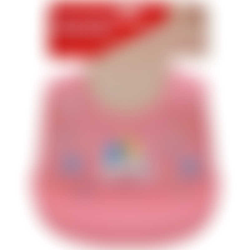 Snapkis Oh-So-Soft Silicone Bib - Unicorn