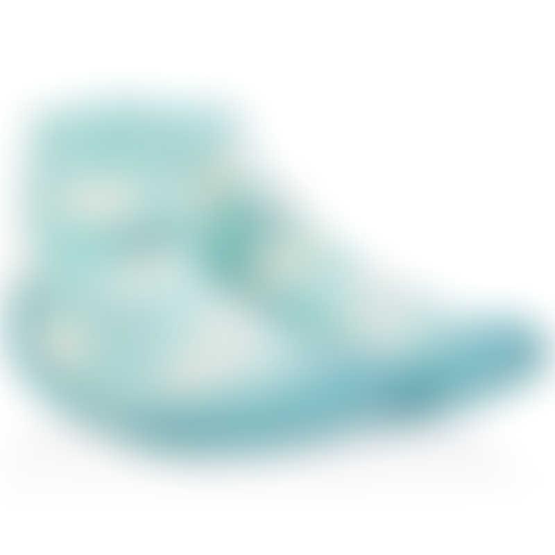 Nuby Snekz 婴儿袜子鞋-蓝天白云-细码