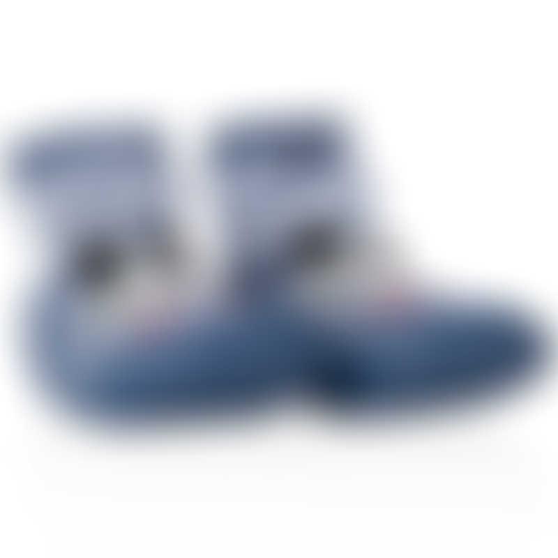 Nuby Snekz Sock & Shoe - Blue Bear - Small 115mm