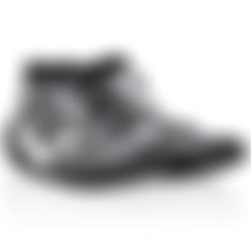 Nuby Snekz Sock & Shoe - Gray Zebra - Large 135mm