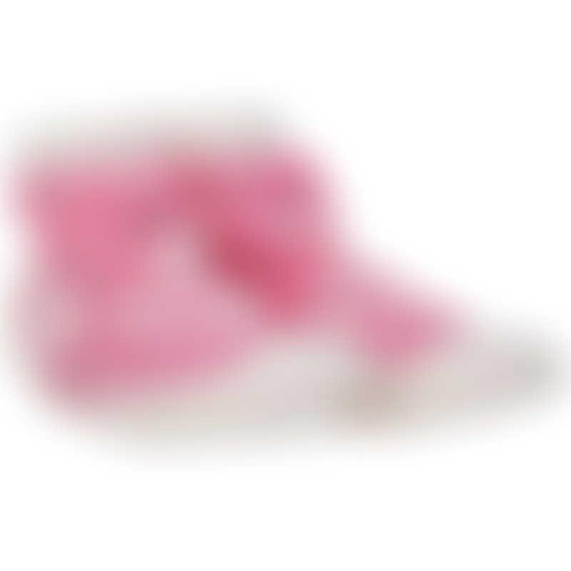 Nuby Snekz Sock & Shoe - Pink Flamingo - Large 135mm