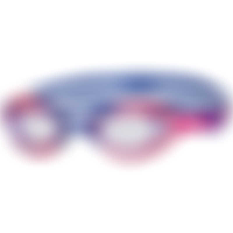 Zoggs Sonic Air Junior Goggles 6-14y - Blue/Pink - Tinted Purple Lens